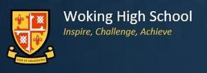 Woking high logo