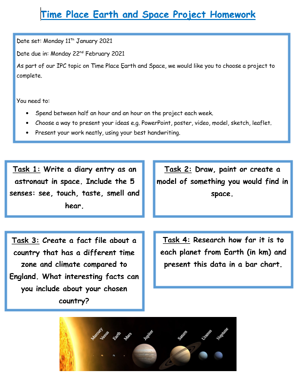 Project homework website