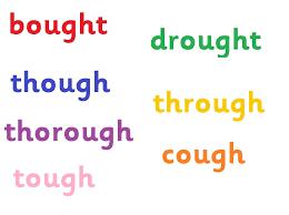 Week 6 spellings