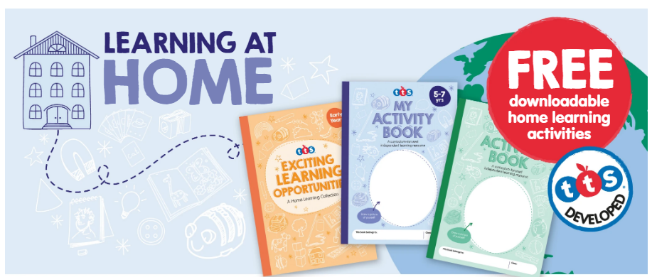 Home learning packs for school